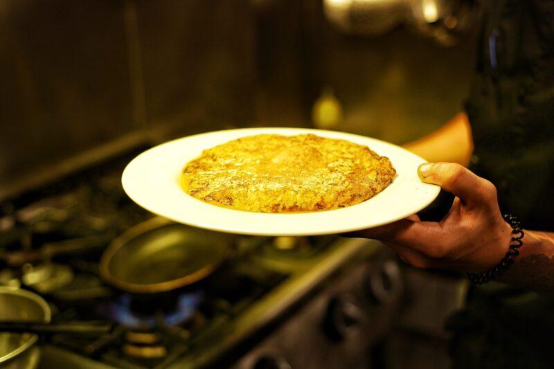 tortilla de bacalao sagardi amsterdam