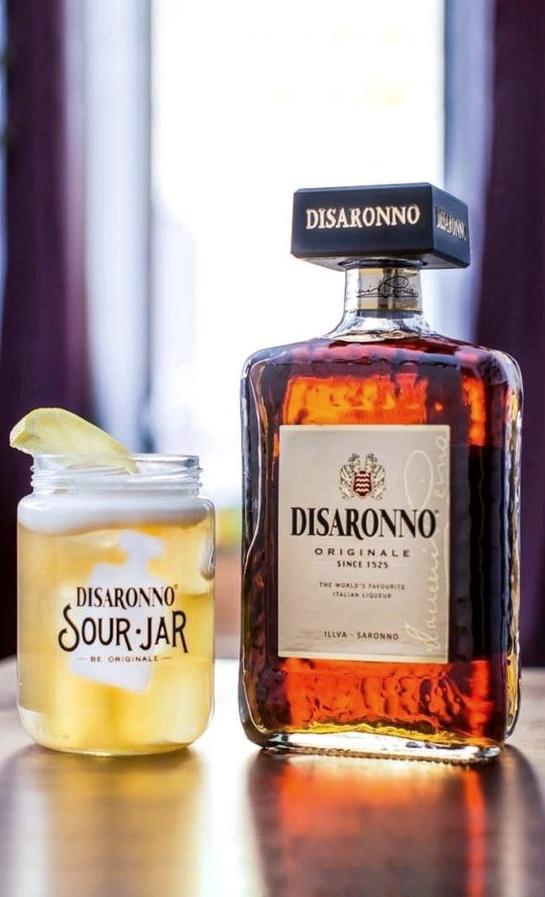 De DiSaronno Sour is de bekendste variant op de Sour met de beroemde Italiaanse likeur DiSaronno