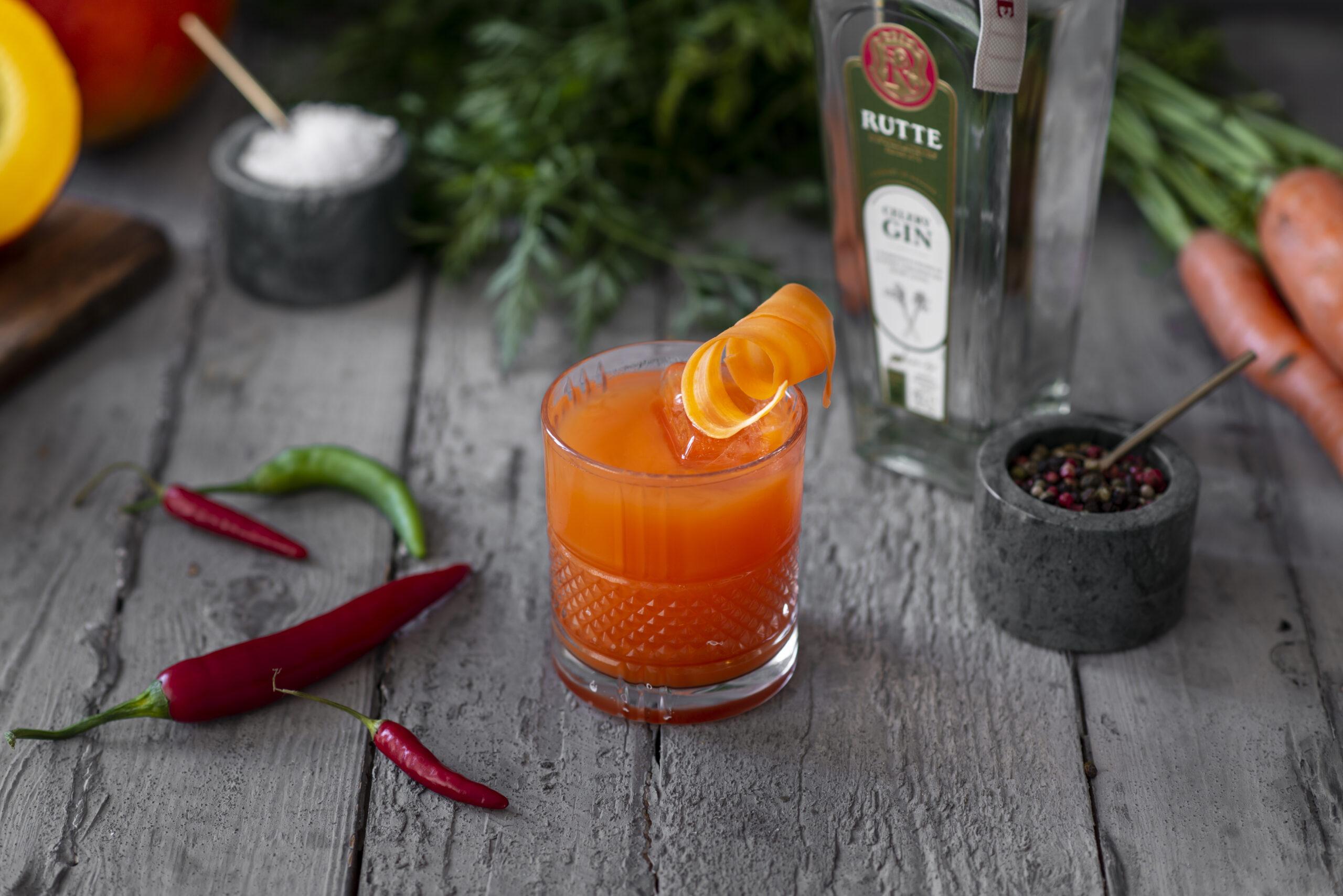 Winterse cocktails met Rutte gin en jenever