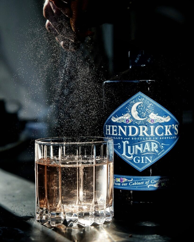 Hendrick's Gin Starry Sky Old Fashioned