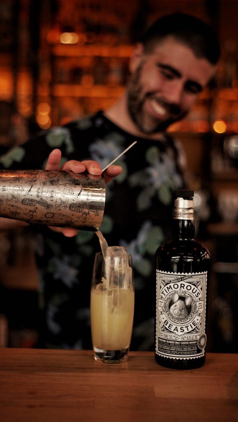 Timorous Beastie Whisky Cocktail