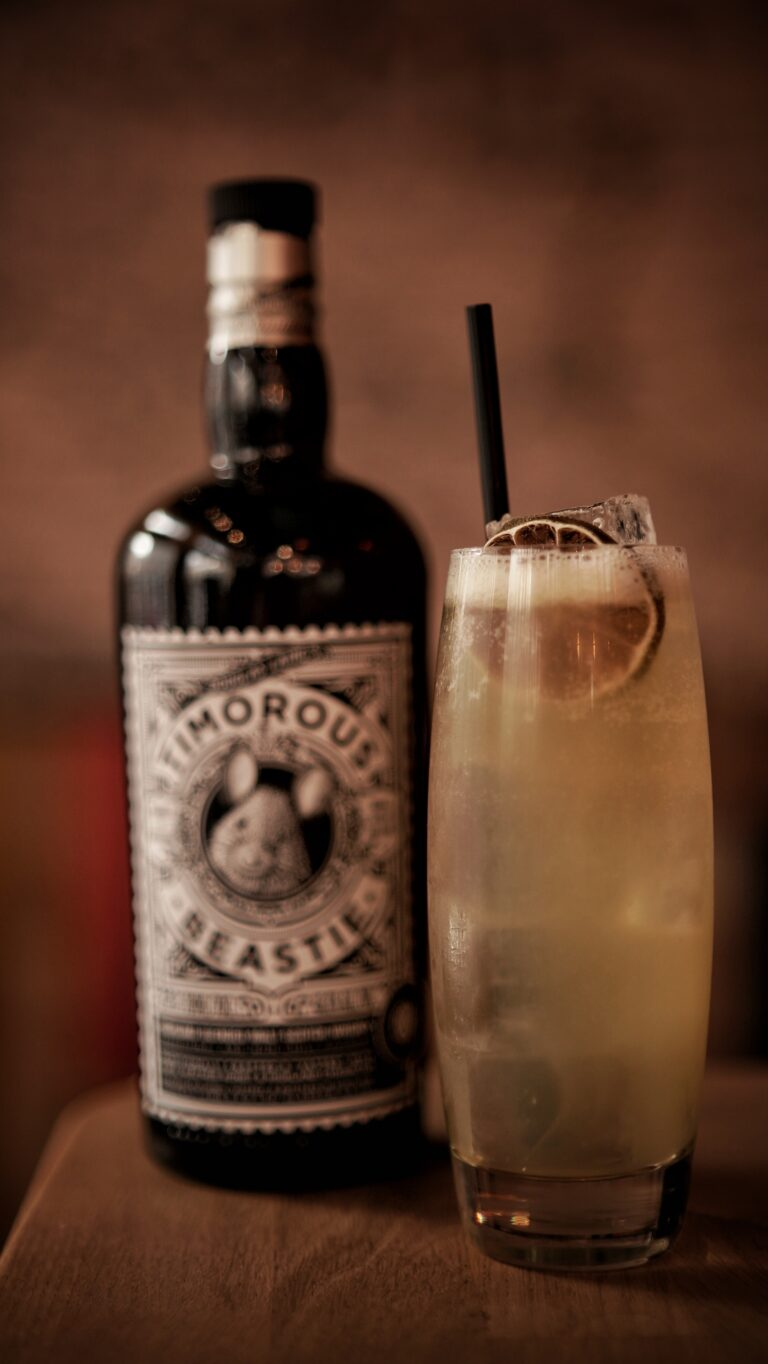 Timorous Beastie Cocktail Whisky Bier