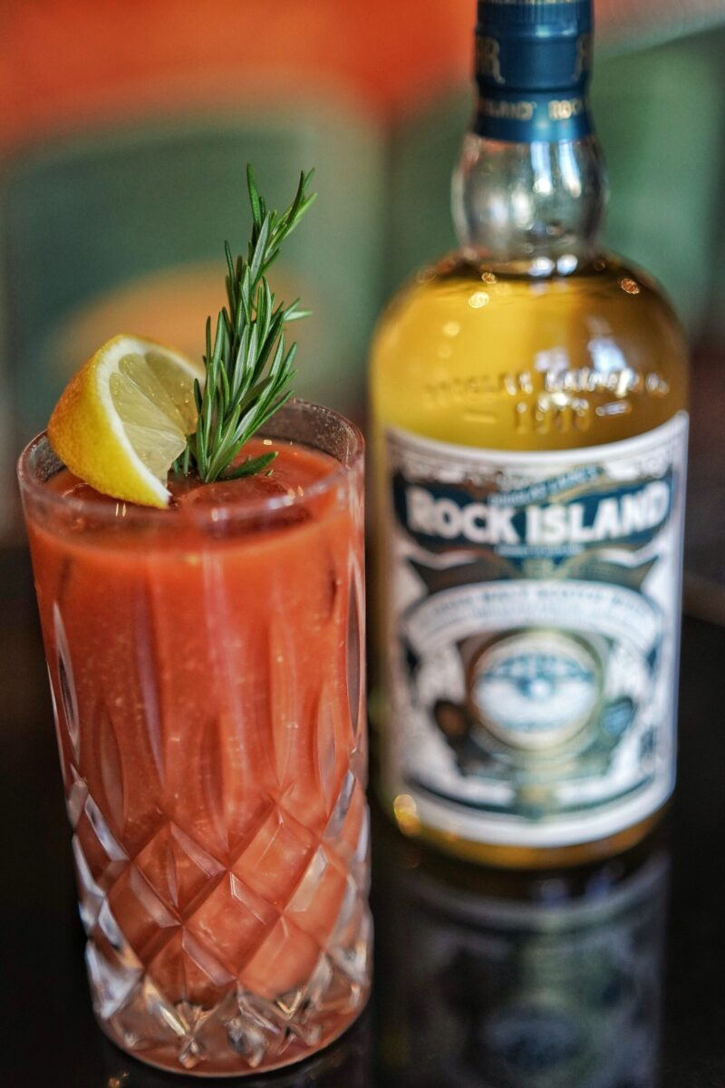 Rock Oyster Bloody Joseph whisky cocktail